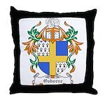 Osborne Coat of Arms Throw Pillow