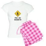 Sasquatch Sign Women's Light Pajamas