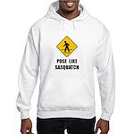 Sasquatch Sign Hooded Sweatshirt