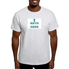 Math Geek Ash Grey T-Shirt