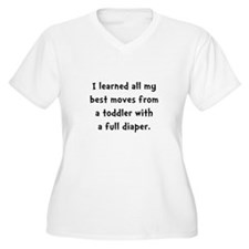 Toddler Full Diaper T-Shirt