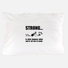 Triathlon Strong Pillow Case
