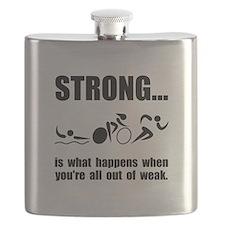 Triathlon Strong Flask