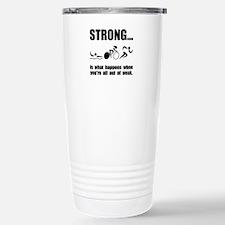 Triathlon Strong Travel Mug