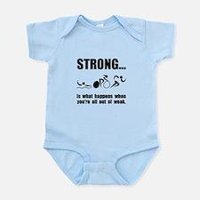 Triathlon Strong Infant Bodysuit