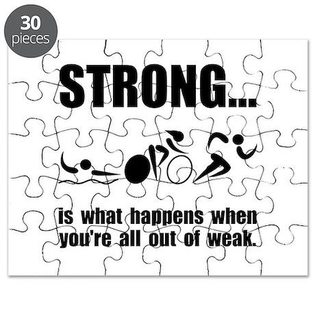 Triathlon Strong Puzzle