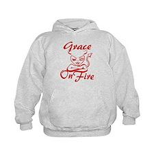 Grace On Fire Hoodie