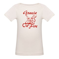 Gracie On Fire Tee