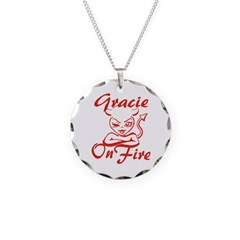 Gracie On Fire Necklace
