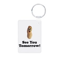 See You Tomorrow Peanut Keychains