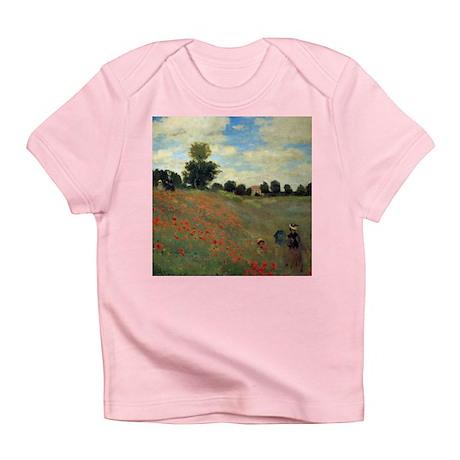 Monet Wild Poppies (detail) Infant T-Shirt