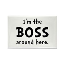 Im The Boss Rectangle Magnet (10 pack)