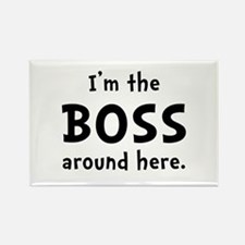 Im The Boss Rectangle Magnet (10 pack)