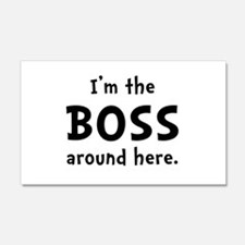 Im The Boss Wall Decal