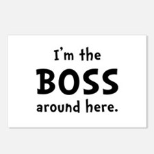 Im The Boss Postcards (Package of 8)