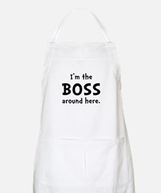 Im The Boss Apron