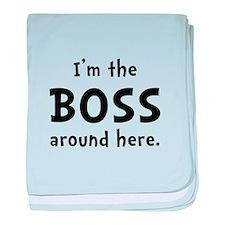 Im The Boss baby blanket