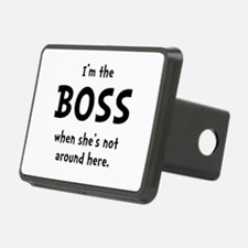 Im The Boss Shes Not Around Hitch Cover
