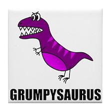 Grumpysaurus Tile Coaster