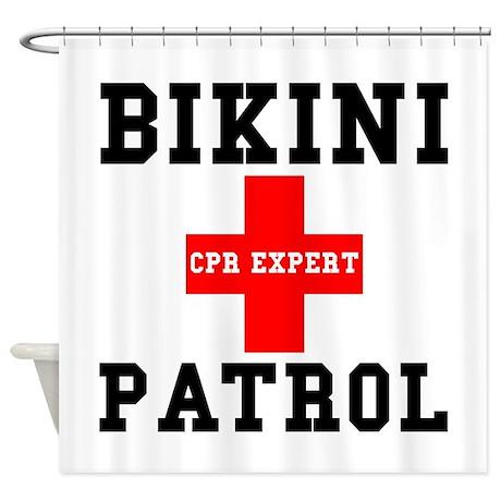 Bikini Patrol Shower Curtain