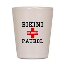 Bikini Patrol Shot Glass