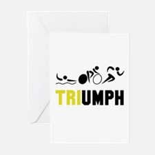 Tri Triumph Greeting Cards (Pk of 20)