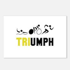 Tri Triumph Postcards (Package of 8)