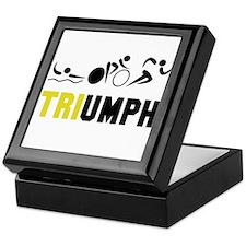 Tri Triumph Keepsake Box