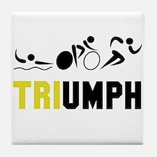 Tri Triumph Tile Coaster