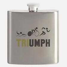 Tri Triumph Flask
