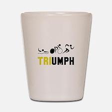 Tri Triumph Shot Glass
