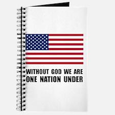 One Nation Under God Journal