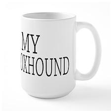 Love English Foxhound Mug