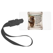 Dalai Lama Dogs ~2000x2000.png Luggage Tag
