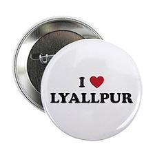 "I Love Lyallpur 2.25"" Button"