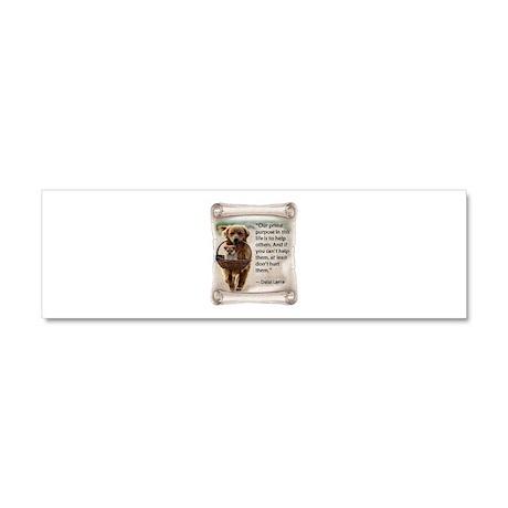 Dalai Lama Dogs ~950x950.png Car Magnet 10 x 3