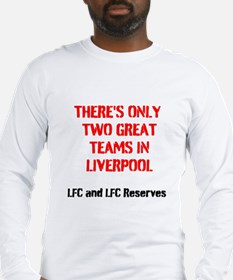 LIVERPOOL QUOTED SHIRTS Long Sleeve T-Shirt