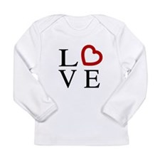 Love Logo Long Sleeve Infant T-Shirt