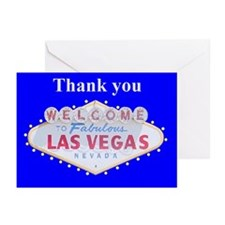 Las Vegas Thank you Traditional Sign Cards 6
