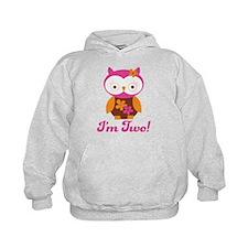 I'm Two Retro Owl Hoody