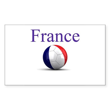 Soccer Pride Sticker (Rectangle)