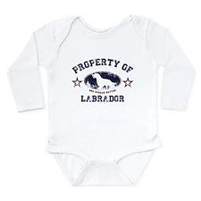 Labrador Long Sleeve Infant Bodysuit