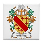 Ormesby Coat of Arms Tile Coaster