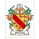 Ormesby Coat of Arms Small Poster