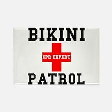 Bikini Patrol Rectangle Magnet