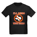 messtexaswhite.png Kids Dark T-Shirt