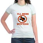 messtexaswhite.png Jr. Ringer T-Shirt