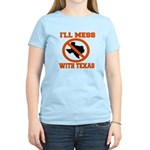 messtexaswhite.png Women's Light T-Shirt