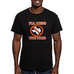 messtexaswhite.png Men's Fitted T-Shirt (dark)