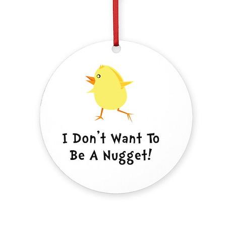Chicken Nugget Ornament (Round)